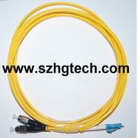 China FC/LC Duplex Single Mode Optical Fiber Patch Cord on sale