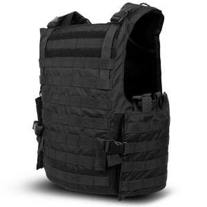 Quality 6.5kg Side Opening Military Grade Bulletproof Vest With Foam - Padded Shoulder Straps for sale