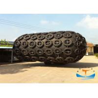Quality Cylindrical Marine Safety Equipment / Yokohama Type Pneumatic Rubber Fender For Ship Protection for sale