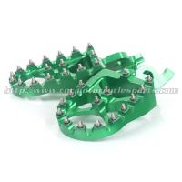 Quality CNC Parts Wide Foot Pegs Dirt Bike With Hardened Steel Resist Wear for sale