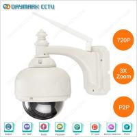 Quality Wireless mini ptz cctv camera specifications with night vision for sale
