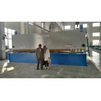 China Sheet Manual Hydraulic Guillotine Shear 6.5M Long Cutting Thickness 13mm on sale