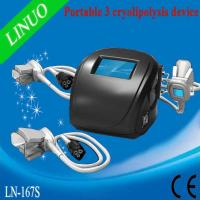 Buy cheap 3 cryo handles Portable Cryolipolysis Slimming Machine With best price from wholesalers