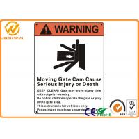 1mm / 2mm / 3mm Thick Aluminum Reflective Rectangular Road Signs for Safety Warning