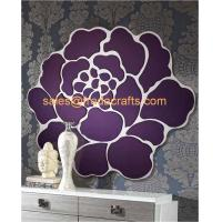 Quality China Factory Venetian Mirrors Flower Design Shape Wall Mirror For Home Decor for sale