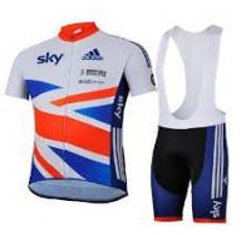 China newest design cycling jersey bib short on sale