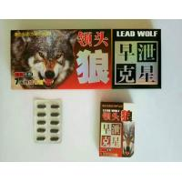 Quality Lead wolf  male sex pill for male enhancement natural sex capsule no side effect for sale