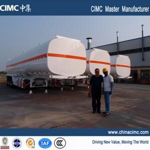 Quality fuel tank trailer , fuel tank semi trailer , 50000 liters fuel tank semi trailer for sale