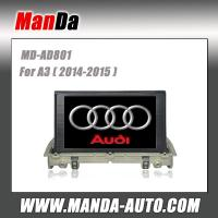 Quality 2 din car radio for Audi A3 (2014-2015) car audio in-dash dvd manufacturer for sale