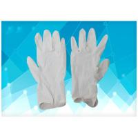 China Anti Oil Disposable Poly Gloves , Medical Rubber Gloves Corrosive Resistance on sale
