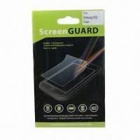 Buy Screen Protector for Samsung/HTC/Mobile Phone, Anti-scratch/-dirt and High at wholesale prices