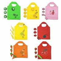Quality Convenient Reusable Grocery Tote Bags , Eco Friendly Shopping Bags Colorful for sale