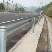 China 4.5mm Thickness Highway Guardrail Systems Parts Galvanized Round Guardrail Posts on sale