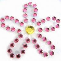 China Attractive Diamond Body Tattoo sticker with 4C Color Header, Made of Rhinestone on sale