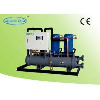 Open type Water Cooled Scroll Chiller , Mitsubishi Low temperatureChiller