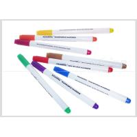 Quality Multi-Color Washable Fabric Whiteboard Marker Pens 1.0mm Fiber Tip For Temporary Drawing #WM10 for sale