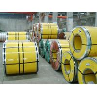 Quality Cold Rolled / Hot Rolled 304 Stainless Steel Coil 1219mm 1500mm Width for sale