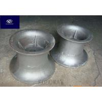 China High Precision Carbon Steel Casting Metal Parts With Black Galvanized / Powder Coating on sale