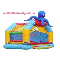 Quality inflatable 0.55mm pvc tarpaulin jumping castle BO017 for sale