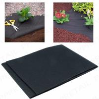 Quality 50G Heavy duty weed control fabric ground cover membrane gardening landscape mulch for sale