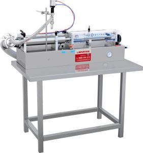 Quality 5-5000ml Semi automatic shampoo/liquid soap/detergent/e-liquid full pneumatic filling machine for sale
