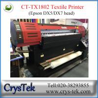 China CrysTek CT-TX1802 digital dye sulimation printer with Epson dx7 printhead,  1440dpi on sale