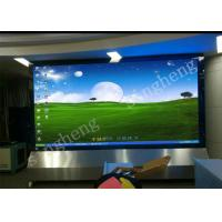 China Full Color Small Pixel Pitch LED Display Diecast Aluminum Cabinet Materials on sale