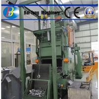 Quality Easy Operated Steel Shot Blasting Machine Automatic Load / Offload Tumble Belt Type for sale