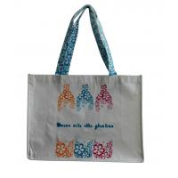 Quality Matt Coated PP Woven Shopping Bags Polypropylene easy handy customized design for sale