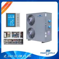 China Solar Competible 30kw Swimming Pool Heat Pump Water Heater Thermostat System Titanium In PVC on sale