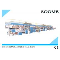 Quality 3 / 5 /7 Ply Corrugated Cardboard Production Line , Sheet Board Making Machines for sale