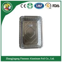 Quality aluminum foil containers  with lid For Food  kitchen Packaging for sale