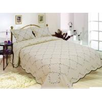 Quality Multi Bedcover Sizes Embroidery Quilt Kits With Silky Comfortable Touch for sale