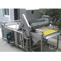 Quality Fruit Processing Machine Fruit Washer / Multifunction Fresh Fruit Washing Machinery 1T - 10T / H for sale
