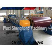 Quality Glazed Steel Corrugated Roof Sheet Making Machine 3 Phases PLC Control for sale