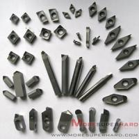 Quality CBN inserts,CBN Tipped Insert Speed and Feed Chart for sale
