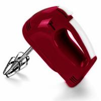 China Plastic Red Lightweight Electric Hand Mixer With Stand , 100w Power on sale