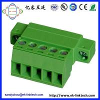 Buy cheap OEM F72-1-3.81 with Flange Screw Head for Pluggable Terminal Blocks Connector from wholesalers