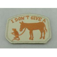 Buy cheap 100% EMB Color Embroidery Uniform Patch With Velcro For Business Promotional from wholesalers