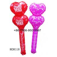 Inflatable Toys Valentine's Day I LOVE U Stick Supplier