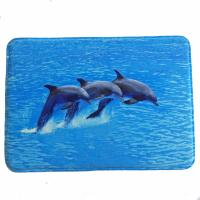 Quality Polyester Elegant Memory Foam Bath Mat Simple Fashion Printed Pattern Techniques for sale