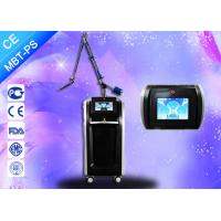 Buy cheap Powerful Pico Laser Treatment Tattoo Pigment Hair Removal 600-750ps Pulse Width from Wholesalers