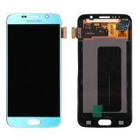 Quality For OEM Samsung Galaxy S6 SM-G920/G920A/G920P/G920R4/G920T/G920F LCD Screen and Digitizer Assembly - Blue - Grade A+ for sale