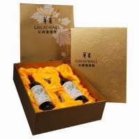 Quality fancy paper wine bag with high quality for sale