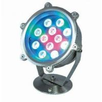 Quality EDISON 12*1W colored led swimming pool lights High power with CE&ROHS , 60 degree for sale