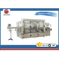 Quality Aseptic Automatic Liquid Filling Machine 11KW , Sparkling Drinks Liquid Filling Line for sale