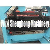 Quality Roof Panel Double Layer Roll Forming Machine With 7 Inch Color Touch Screen for sale