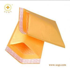 Quality Custom Printed Kraft Paper Bubble Padded Envelope for sale