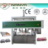 Quality SIEMENS Control Automatic Egg Carton Paper Tray Making Machine 1800Pcs / H for sale