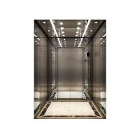 Quality ESW series machine room less elevator Guangri band 1.5m/s Speed for sale